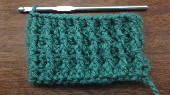 Learn how to Crochet the Front Post Double Crochet Stitch