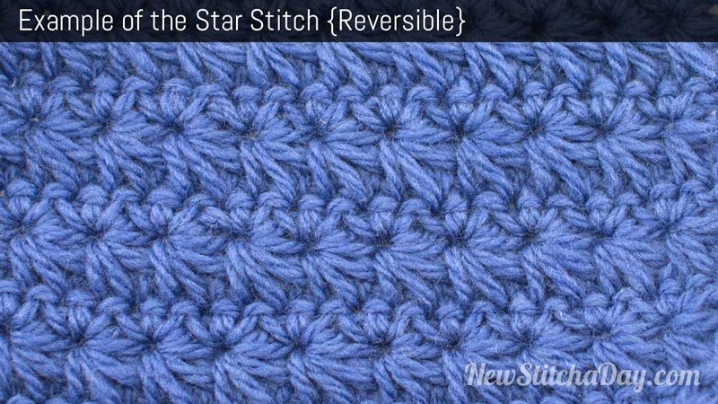 The Star Stitch Crochet Stitch 92