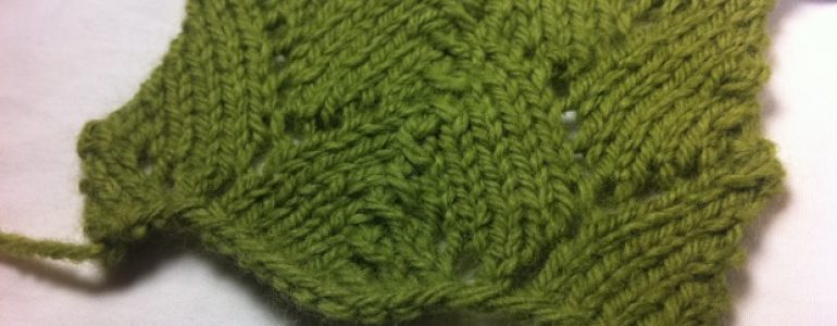 Example of the Shell Lace Stitch