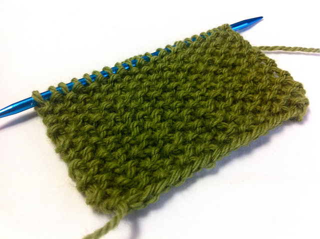Example of the Seed Stitch