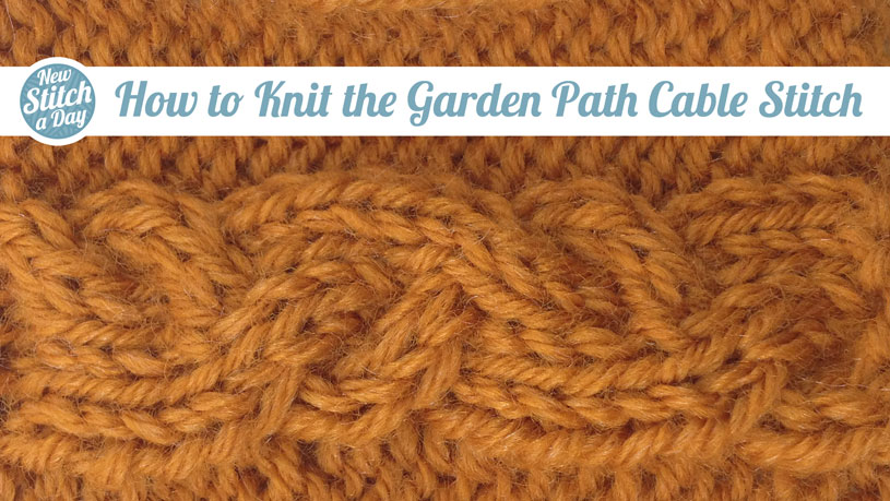 How to Knit the Garden Path Cable Stitch