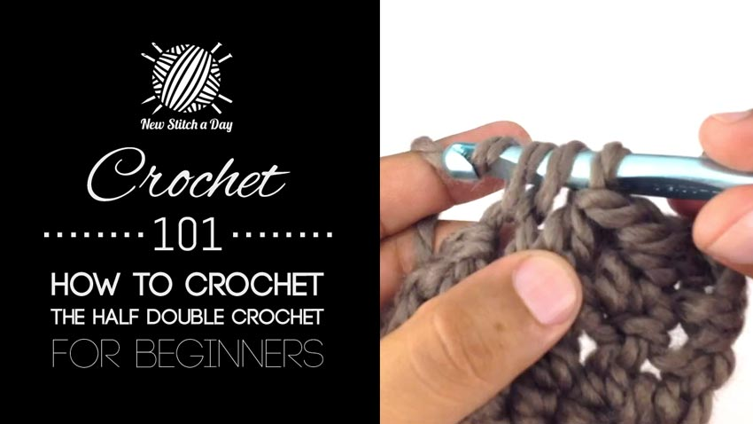 Crochet 101: How to Crochet the Half Double Crochet for Beginners