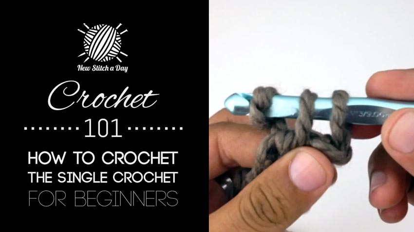 Crochet 101: How to Crochet the Single Crochet for Beginners