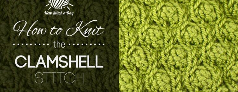 How to Crochet the Clamshell Stitch