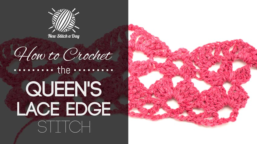 How to Crochet the Queen's Lace Edge