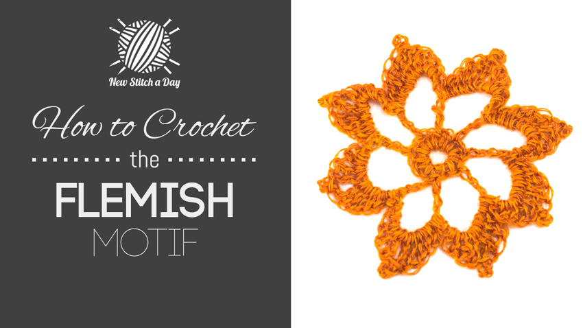 How to Crochet the Flemish Motif