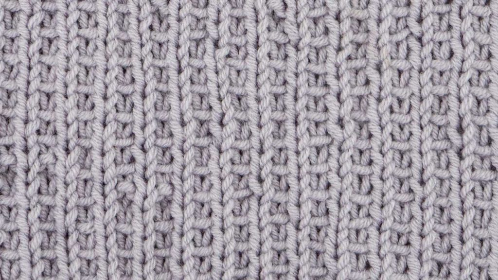 Texture Stitch Knitting Pattern (Wrong Side)