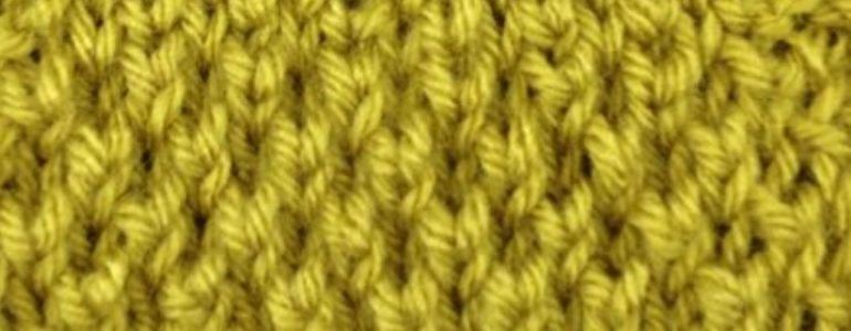 The Bee Stitch Knitting Pattern